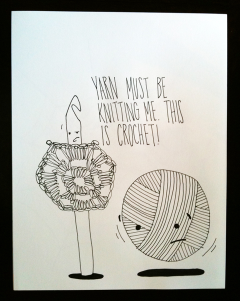 obey crochet drawing